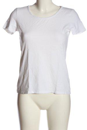 People tree T-shirt blanc style décontracté