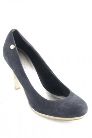 Pep Step High Heels schwarz-creme Casual-Look
