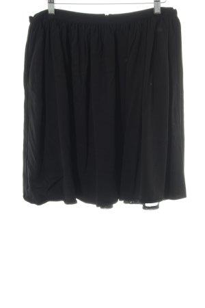 Pepaloves Minirock schwarz klassischer Stil
