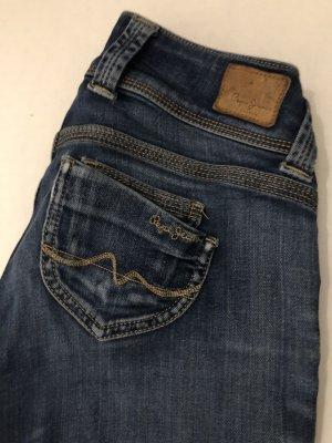 Pepe Jeans Jeansy z prostymi nogawkami ciemnoniebieski