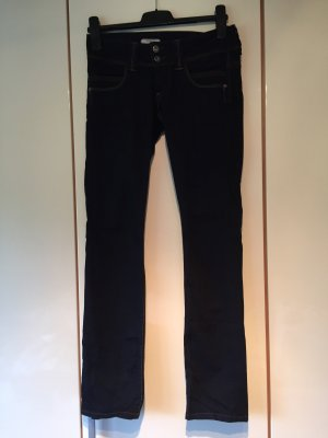 Pepe Jeans 27/32 dark blue regular fit/ low waist/ straight leg