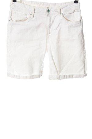 Pepe Jeans Vaquero 3/4 blanco look casual