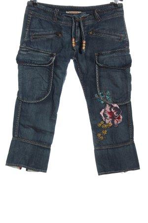 Pepe Jeans 3/4 Jeans blau Casual-Look
