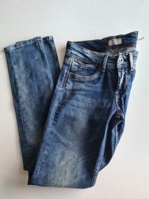 Pepe Jeans Jeans taille basse bleu foncé