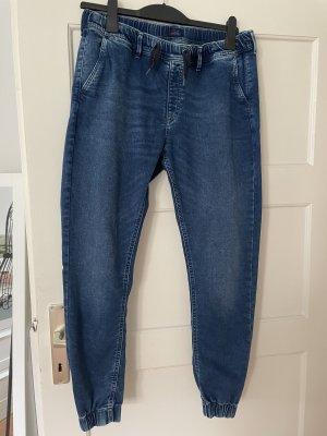 Pepe Jeans Jeans baggy bleu foncé-bleu pâle