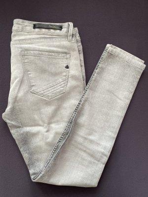 Pepe Jeans London Vaquero slim gris claro-gris