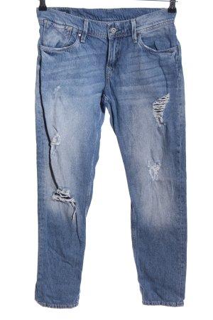 Pepe Jeans Jeans a 7/8 blu stile da moda di strada