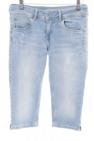 Pepe Jeans 7/8-jeans blauw casual uitstraling