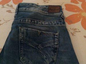 Pepe Jeans Jeans bootcut bleu coton