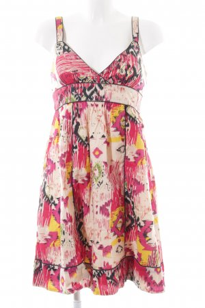 Pepe Jeans A-Linien Kleid abstraktes Muster schlichter Stil