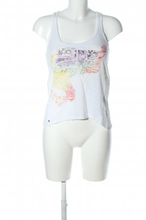 Pepe Jeans A-Linien Top Blumenmuster Casual-Look