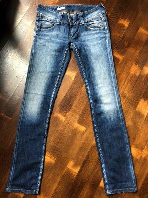 Pepe Jeans Jeans met rechte pijpen staalblauw