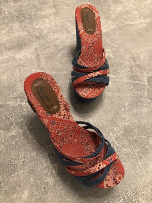 Pepe Jeans Absatz Sandalen Gr 39