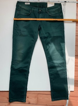 Pepe Jeans Low-Rise Trousers petrol