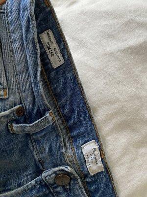 Pepe Jeans Jeans taille haute bleu-bleu acier