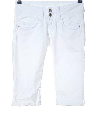Pepe Jeans Bermudy biały W stylu casual