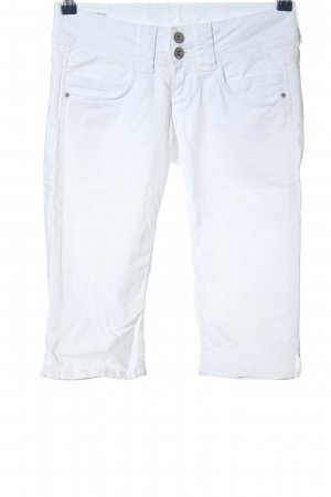 Pepe Jeans Bermuda wit casual uitstraling