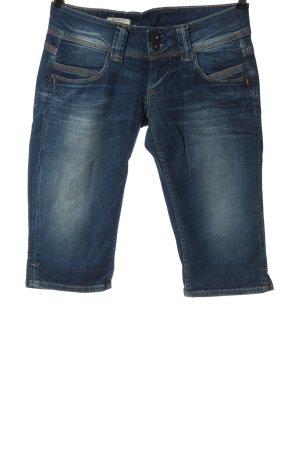 Pepe Jeans Bermudy niebieski W stylu casual