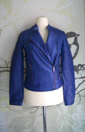 Pepe Jeans Veste motard bleu violet