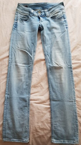 Pepe jeans blue-denim Low waist Venus W28/L34
