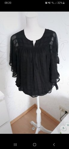PEPE Jeans Bluse schwarz gr. M/L