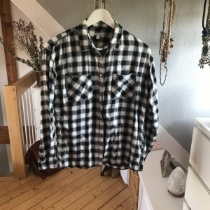 Pepe Jeans Checked Blouse black-white