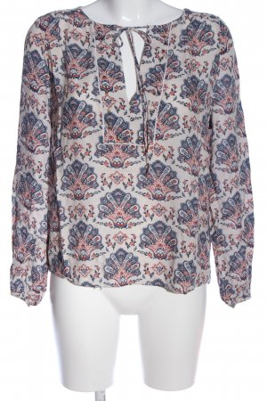 Pepe Jeans Blusen-Body Allover-Druck Casual-Look