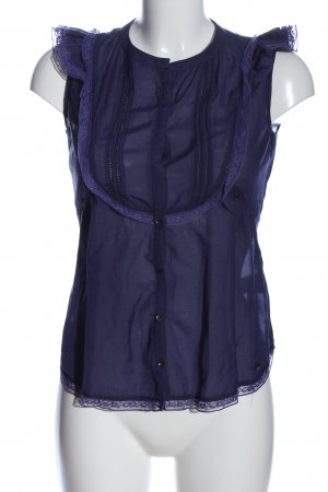 Pepe Jeans Blouse topje lila casual uitstraling