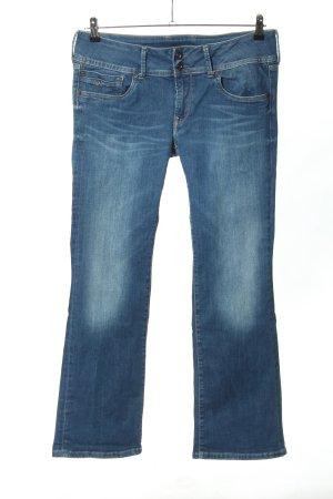 Pepe Jeans Vaquero 7/8 azul look casual
