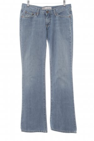 Pepe Jeans Boot Cut Jeans blau meliert Casual-Look