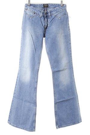 Pepe Jeans Boot Cut Jeans kornblumenblau Casual-Look