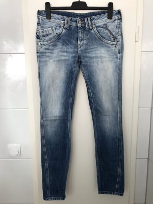 Pepe Jeans Boyfriendbroek blauw