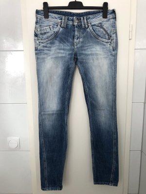Pepe Jeans Boyfriend Trousers blue