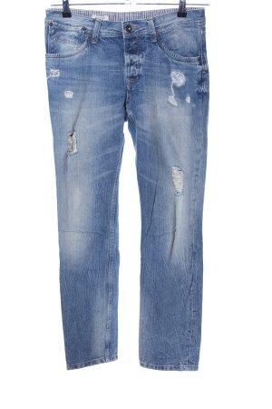 Pepe Jeans Boyfriendjeans blau Casual-Look