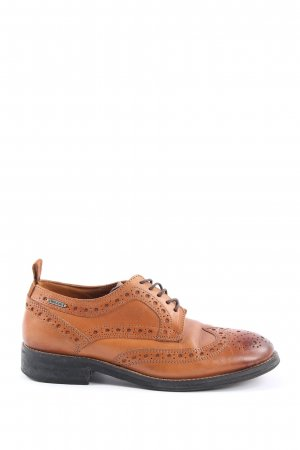 Pepe Jeans Wingtip Shoes brown elegant