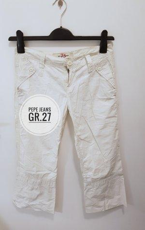 Pepe Jeans Capris white-natural white