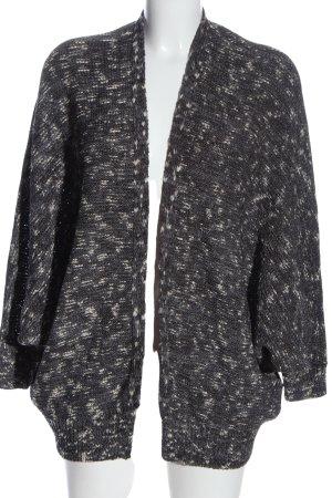 Pepe Jeans Cardigan schwarz-weiß meliert Casual-Look