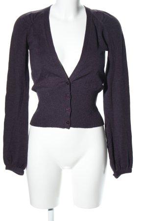 Pepe Jeans Cardigan lila Business-Look