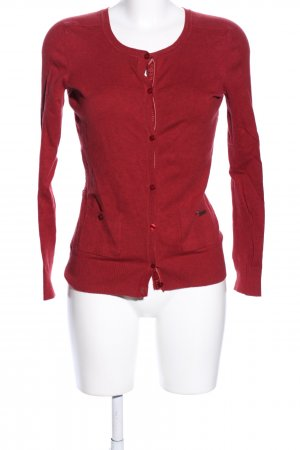 Pepe Jeans Cardigan rot Casual-Look