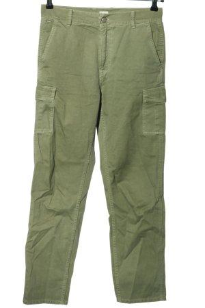 Pepe Jeans Pantalon cargo vert élégant