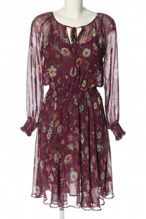 Pepe Jeans Chiffonkleid Allover-Druck Casual-Look