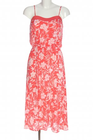 Pepe Jeans Cocktailkleid rot-pink Allover-Druck Casual-Look