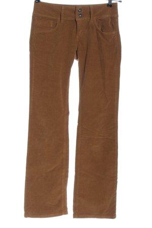 Pepe Jeans Corduroy broek bruin casual uitstraling