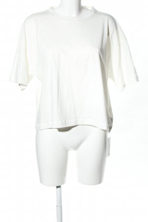 Pepe Jeans Cropped Shirt weiß Casual-Look