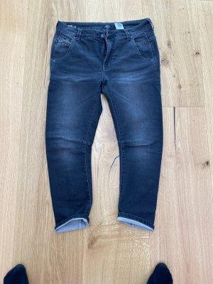 Pepe Jeans Jeansy typu boyfriend antracyt-czarny