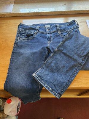 Pepe Jeans Jeans vita bassa blu scuro-blu