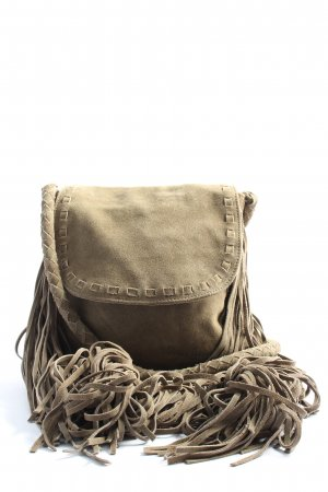 Pepe Jeans Fringed Bag gold-colored casual look