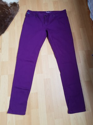 pepe jeans gr. 34  jeansgrösse = ca. gr. 44,   lila ungetragen