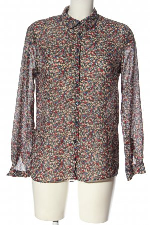 Pepe Jeans Hemd-Bluse Allover-Druck Casual-Look