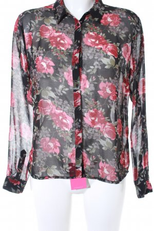 Pepe Jeans Hemd-Bluse Blumenmuster Casual-Look